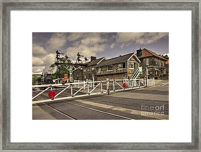 Railway Tavern Grosmont  Framed Print