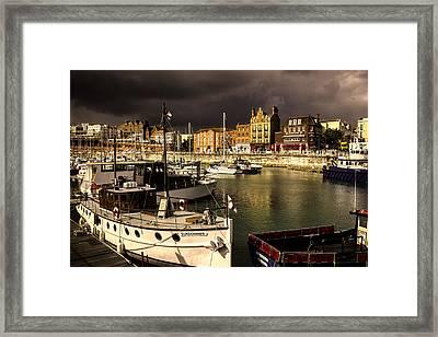 Ramsgate Harbour Framed Print