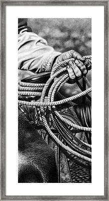 Ranch Hand Framed Print by Glen Powell
