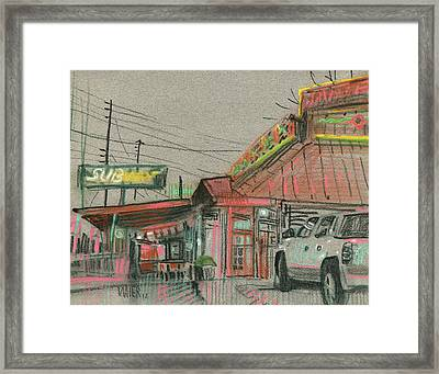 Rancho Grande Framed Print by Donald Maier