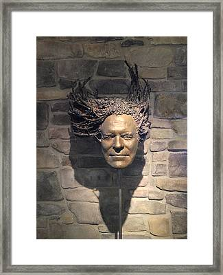 Framed Print featuring the painting Rasta by Dan Redmon