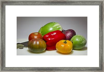 Framed Print featuring the photograph Ratatouille  by Ricky L Jones