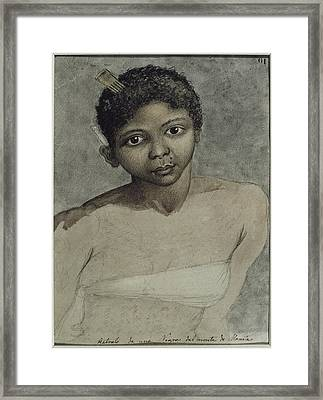 Ravenet, Juan 1766. Portrait Of A Black Framed Print