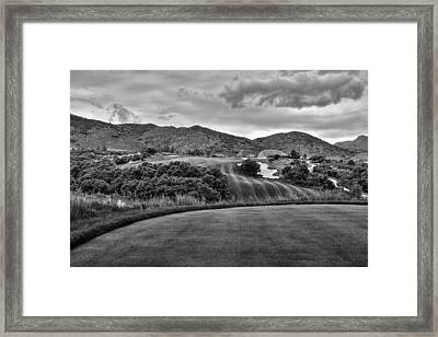 Framed Print featuring the photograph Ravenna Golf Course by Ron White