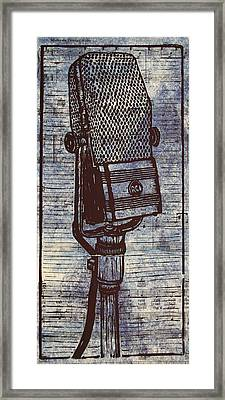 Rca 44 On Music Framed Print by William Cauthern