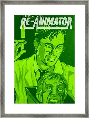Re-animator Framed Print by Gary Niles
