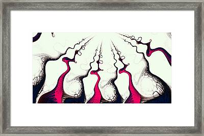 Reaching For The Top Framed Print by Anastasiya Malakhova