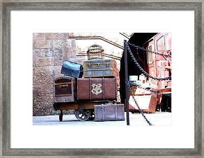 Ready For Hogwarts Framed Print by Shelley Overton
