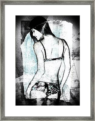 Rear View Framed Print by David Ridley