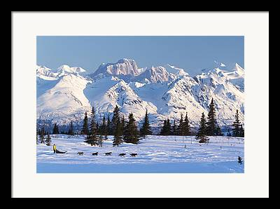 Mooses Tooth Framed Prints