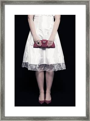 Red Handbag Framed Print