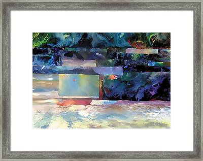 Red Moon Framed Print by The Art of Marsha Charlebois