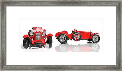 Red Racing Car Replica Framed Print by Jorgo Photography - Wall Art Gallery