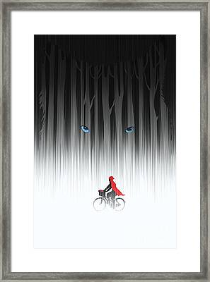 Red Riding Hood Framed Print by Sassan Filsoof