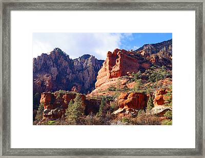 Red Rock Country Landscapes Framed Print