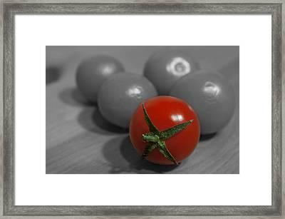 Red Tomato Framed Print