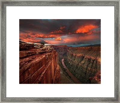 Redemption Framed Print by Chris Moore