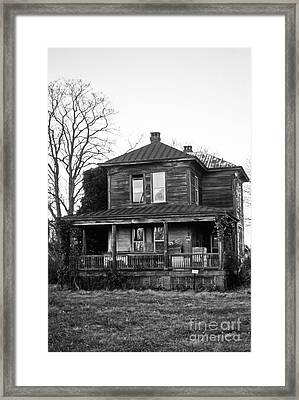 Reedy Island Keepers House Framed Print