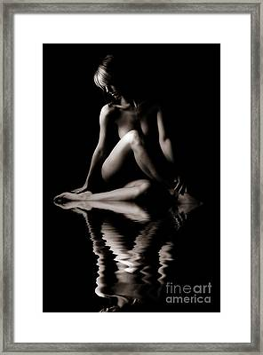 Reflection Of Beauty Framed Print by Jt PhotoDesign