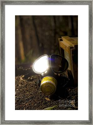 Reflection Of War Framed Print by Jorgo Photography - Wall Art Gallery