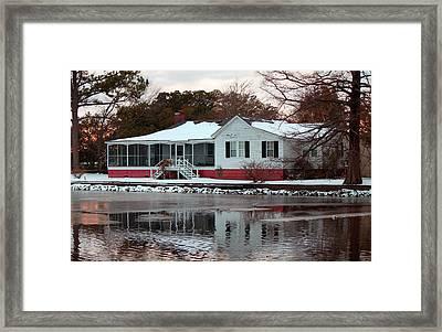 Reflections Framed Print by Carolyn Ricks