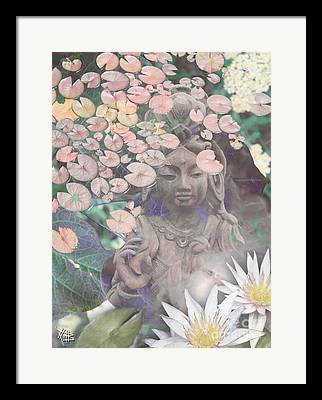 Spring Flowers Mixed Media Framed Prints