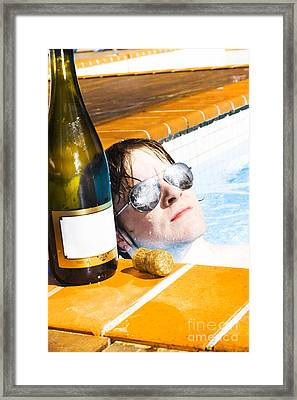 Reflections Of Success Framed Print
