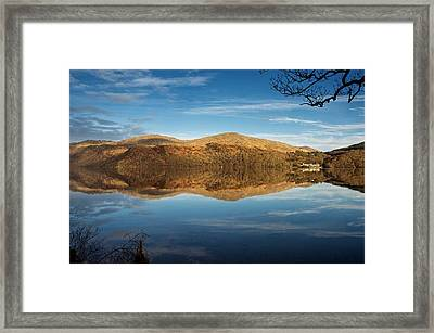 Reflections On Loch Lomond Framed Print