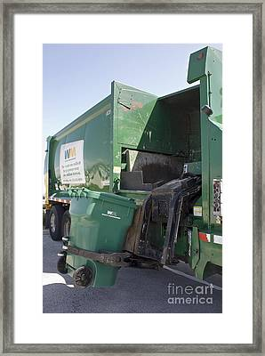Refuse Collection Framed Print by Mark Williamson