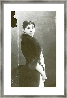 Rejane (1857-1920), Nee Gabrielle Reju Framed Print by Granger