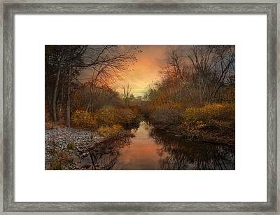Framed Print featuring the photograph Remains Of The Day by Robin-Lee Vieira