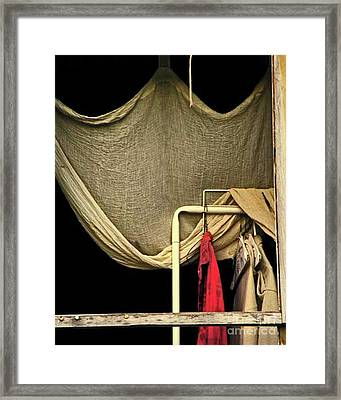 Rembrandants Closet Framed Print by Joe Jake Pratt