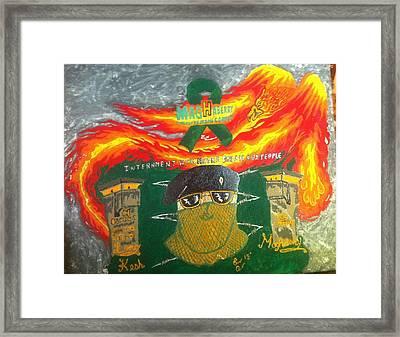 Remember Irish Pows Framed Print