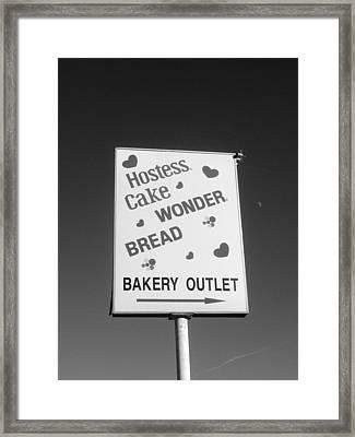 Remembering Hostess Framed Print