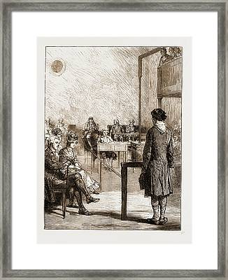Reminiscences Of Old Bow Street Police Court Framed Print by Litz Collection