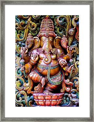 Remover Of Obstacles Framed Print