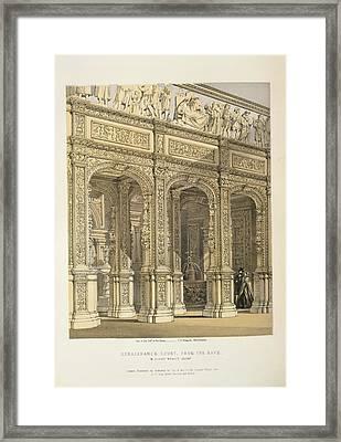 Renaissance Court Framed Print