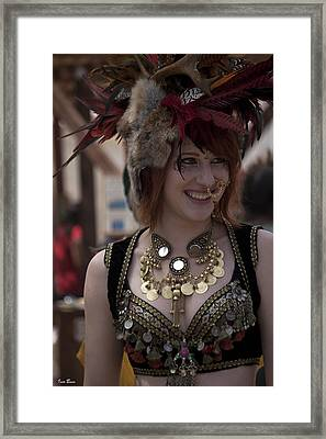 Renaissance Girl Framed Print by Ivete Basso Photography
