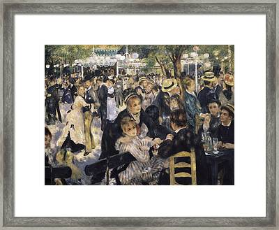 Renoir, Pierre-auguste 1841-1919. Ball Framed Print by Everett