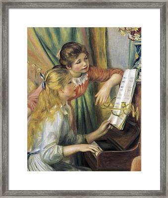 Renoir, Pierre-auguste 1841-1919. Two Framed Print by Everett