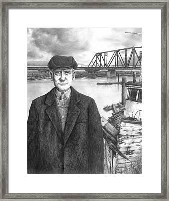 Repairman Framed Print by Mark Zelmer
