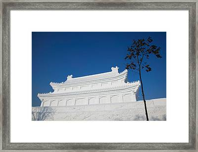 Replica Of The Forbidden City Made Framed Print by Panoramic Images