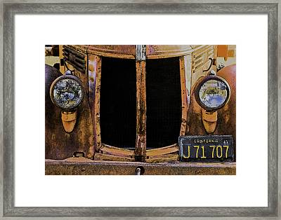 Framed Print featuring the photograph Retired by Sherri Meyer