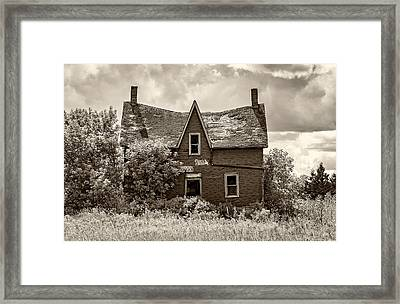Retirement Sepia Framed Print by Steve Harrington