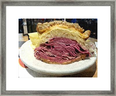 Reuben Framed Print by Barry Spears