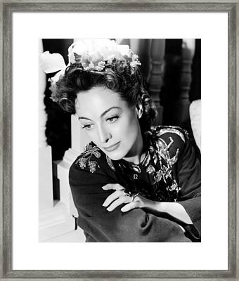 Reunion In France, Joan Crawford, 1942 Framed Print