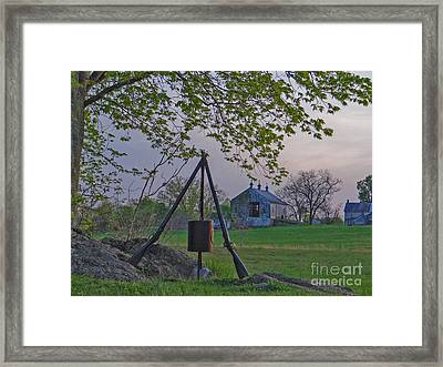 Reveille Framed Print by Mike Griffiths