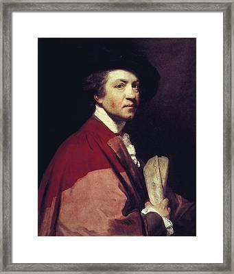 Reynolds, Sir Joshua 1723-1792 Framed Print