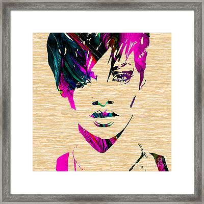 Rhianna Collection Framed Print by Marvin Blaine