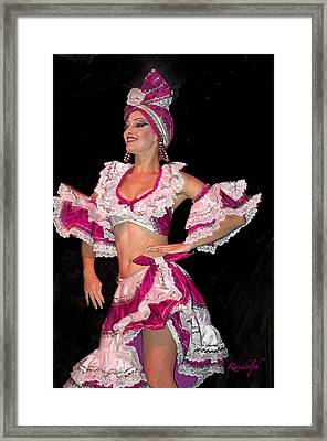 Rhumba Framed Print by Cheri Randolph